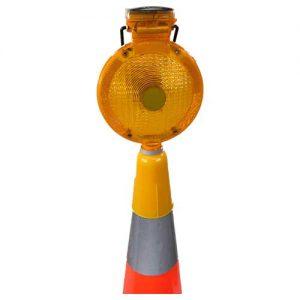 Cone Solar Beacon Flash Light
